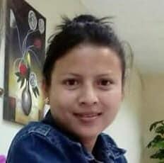 Nuestra compañera Diana de ICW Honduras.